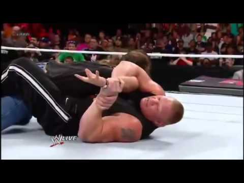 WWE Every Brock Lesnar Attack