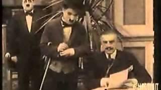 Charlie Chapin Roller Skating - The Rink ( 1916 )