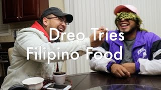 Spanish Guy Tries Filipino Food