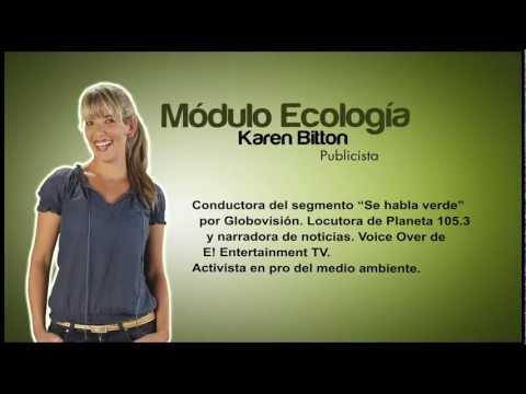 Módulo Ecología parte 1 del Video Diccionario de Lengua de Señas Venezolana Tomo 3