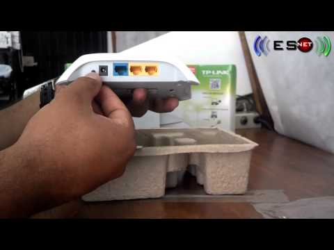 Unboxing Router Inalámbrico TP-LINK TL-WR720N ESNET