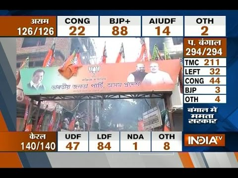 Assam Election Results 2016: BJP's Maiden Victory in Northeast India