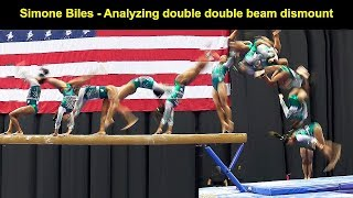 Simone Biles - Analyzing double double beam dismount