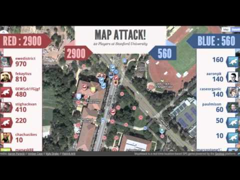 MapAttack - WhereCamp 2011