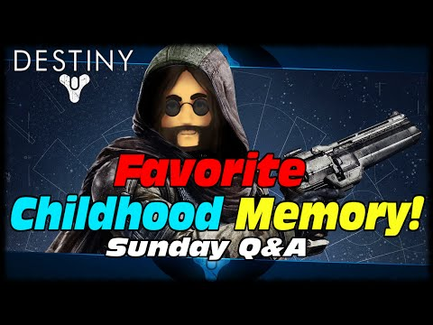 MAK Whats Your Favorite Childhood Memory? Destiny Daily Heroic Warlock Gameplay!