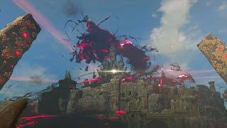 Zelda Breath of the Wild: Ganon Final Boss Fight