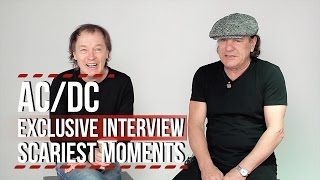 AC/DC Video - AC/DC Share Their Scariest Moments on Tour