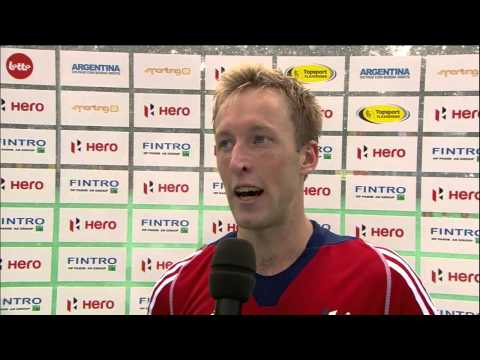 Post Match Interview Barry Middleton