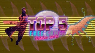 Top 5 Best Free Games on Itch.io // October 2018