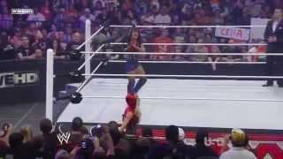 WWE Raw Layla vs Melina Unified Divas Championship Match