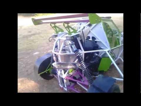 BARRACUDA BUGGY IN GREECE HAYABUSA MOTOR
