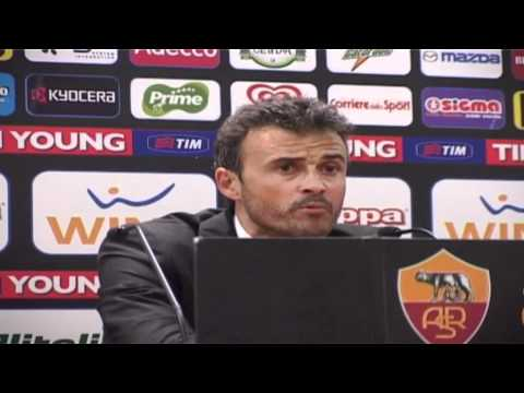 Roma head coach Luis Enrique unhappy with performance despite beating Genoa