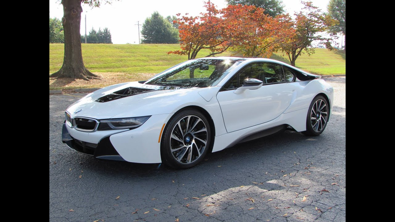 2014 / 2015 BMW i8 Start Up, Test Drive, and In Depth Review - YouTube