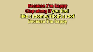 Happy Pharrell Williams Best Karaoke Instrumental