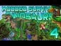 Minecraft: Modded Dinosaur Survival Let's Pla