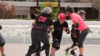 "Video reportaje ""ROLLER DERBY AGUASCALIENTES"" - Sexenio TV"