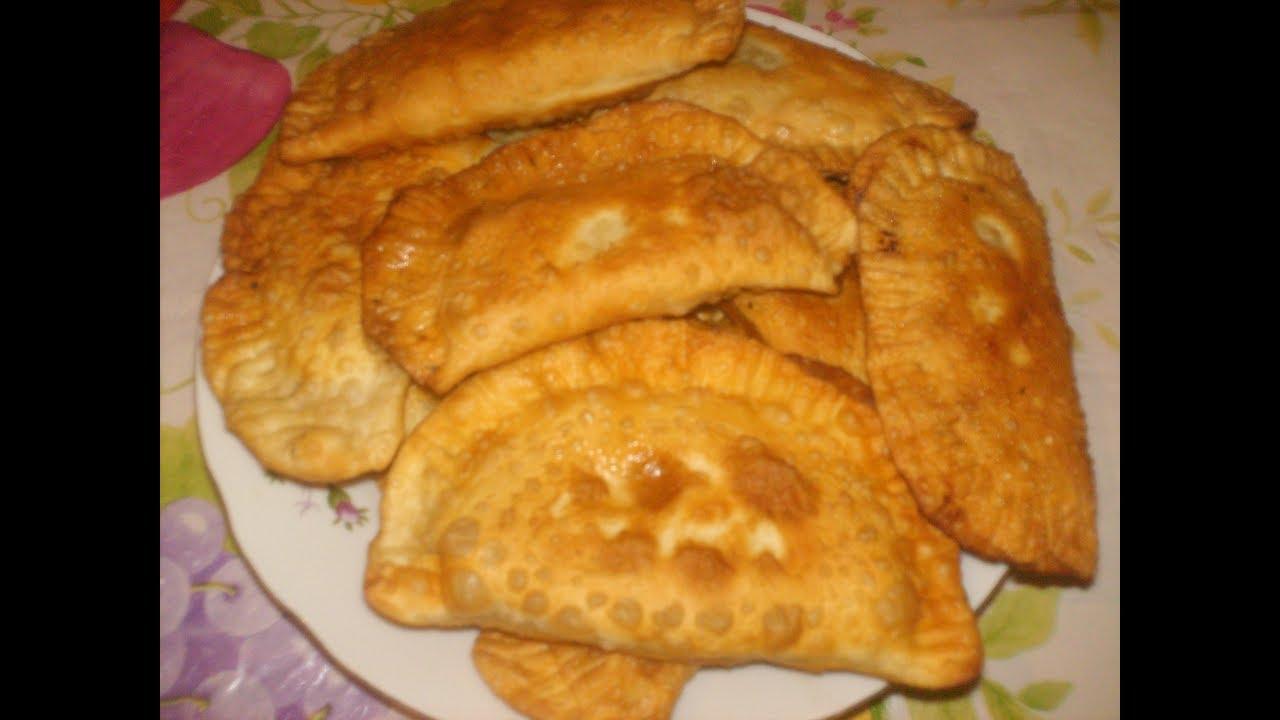 Рецепт татарских чебуреков в домашних условиях