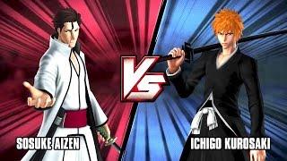 JSTARS VICTORY Vs  Sosuke Aizen VS Ichigo Kurosaki