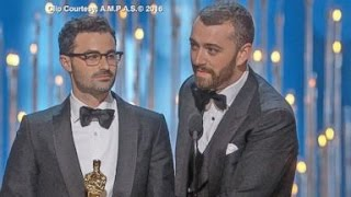 Download Lagu Oscars 2016 CONTROVERSY | Sam Smith Apologizes, Chris Rock vs. Jada Pinkett Smith Gratis STAFABAND