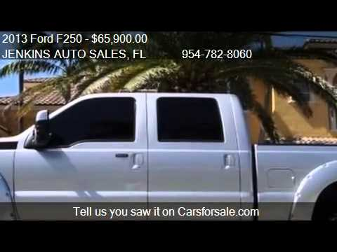 2013 Ford F250 Platinum - for sale in Pompano Beach, FL 3306