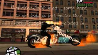 GTA San Andreas Ghost Rider Mod