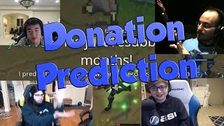 League of Legends Funny Stream Moments #37 -DONATION PREDICTION!
