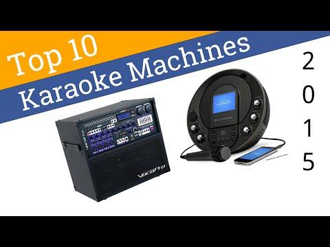 best karaoke machine 2015