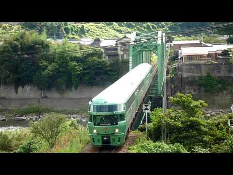 2009/8/9 特急「ゆふいんの森5号」走行@筑後大石~夜明間