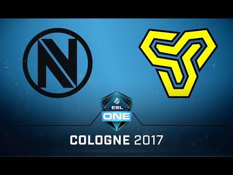 CS:GO - EnVyUs vs. Space Soldiers [Cache] Map 1 - Quarterfinal - ESL One Cologne 2017 EU Qualifier