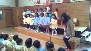 2013/10月誕生会主役たちの発表