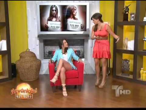 "Kate del Castillo and y Rashel Diaz present the Legshow""""Sexy Beast""""""  sexy Levantate Funny Clip"