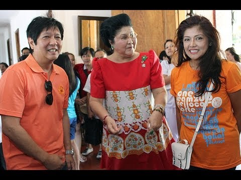 Sen. Bongbong Marcos - Visit to Malacanang of the North, Paoay, Ilocos Norte 29-Apr-2013