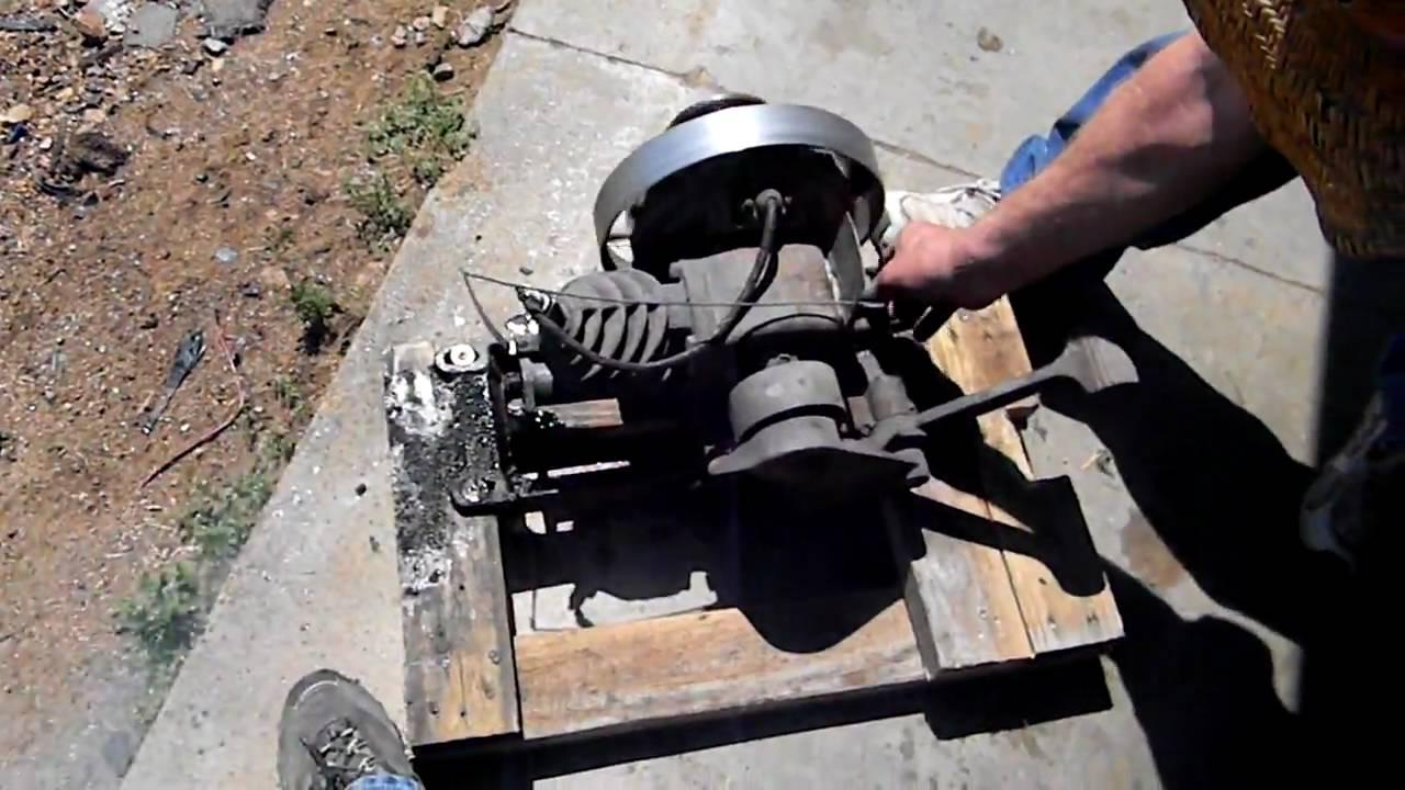 Maytag Hit And Miss Washing Machine Engine 1930 S Youtube