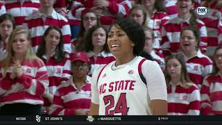 2019.01.20 Virginia Tech Hokies at #8 NC State Wolfpack Women's Basketball