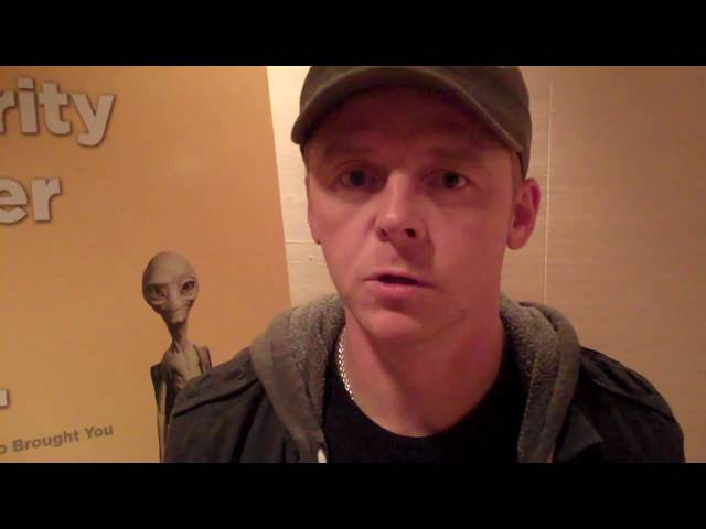 Simon Pegg talks about his first impression of Hollywood
