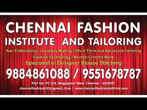 Aari Embroidery class in Chennai|Hand embroidery courses|Top Fashion designing institute in Chennai