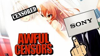 Sony's New Awful Censorship is RUINING Anime Games and Businesses