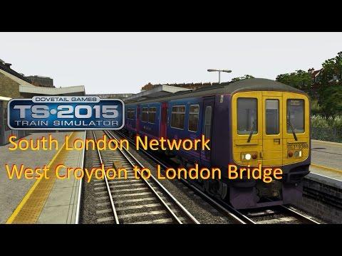 West Croydon to London Bridge - South London Network - Train Simulator 2015