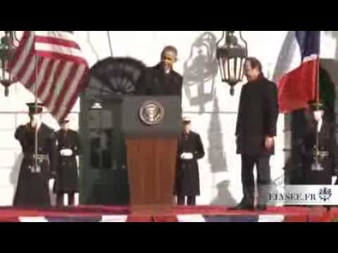 Discours Obama-Hollande de Washington....