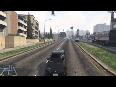 Grand Theft Auto V on PC   GTX 965M   very high settings   Free roam with cops