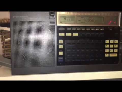 Sudan Radio 7205 KHz Aitahab, received in Oxford, UK