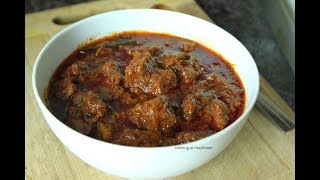 കിടിലൻ പോർക്ക് വിന്താലു / Pork Vindaloo Recipe / Kerala Pork Vindaloo