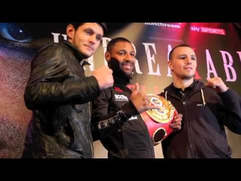 KELL BROOK RETURNS TO SHEFFIELD FOR MANDATORY DEFENCE AGAINST IONUT DAN ION ON MARCH 28th (2015)