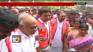Minister KTR Tour In Hyderabad Streets | TS