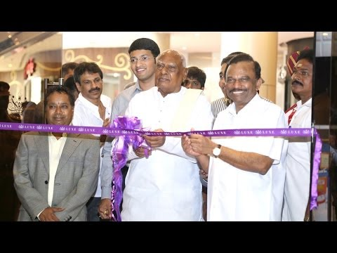 Governor Dr K Rosaiah Inaugurates LUXE Cinemas at Phoenix Market City