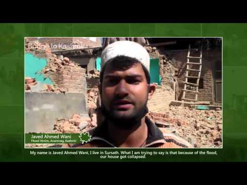 Video depiction of flood fury across Anantnag, Jammu and Kashmir