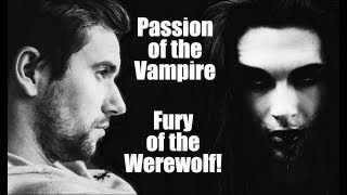 ASMR, Passion of the Vampire/Fury of the Werewolf! (Mouth sounds/Feeding) Romantic Audio