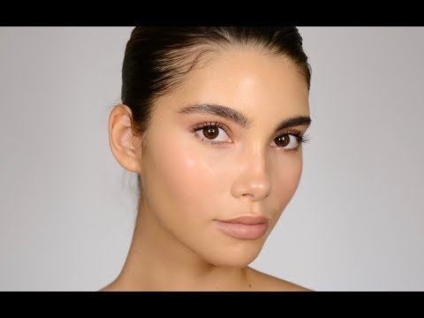 GLOWING 'NO MAKEUP' MAKEUP | Cindy Mello X Kale Teter