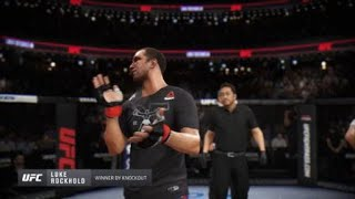 EA SPORTS™ UFC® 3_ Another CrazyKay Fight .. Thought i had it !! Lol