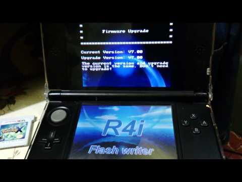 Actualizar R4 SDHC Dual-Core 2013 3DS/DS 7.1.0